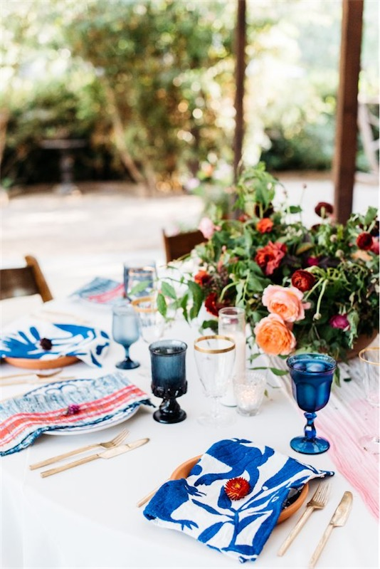boda de estética mediterránea en chicanddeco