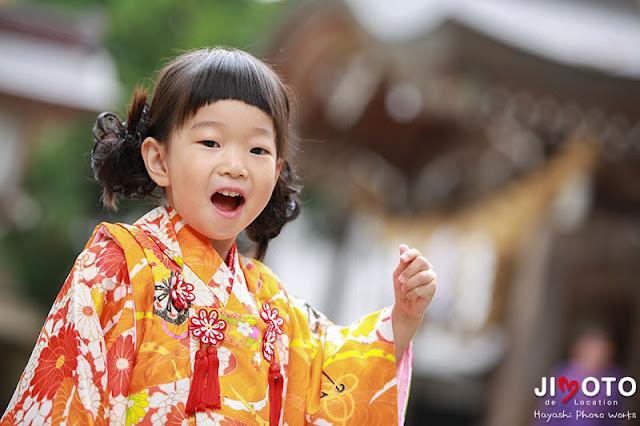 白山比咩神社での七五三の出張撮影