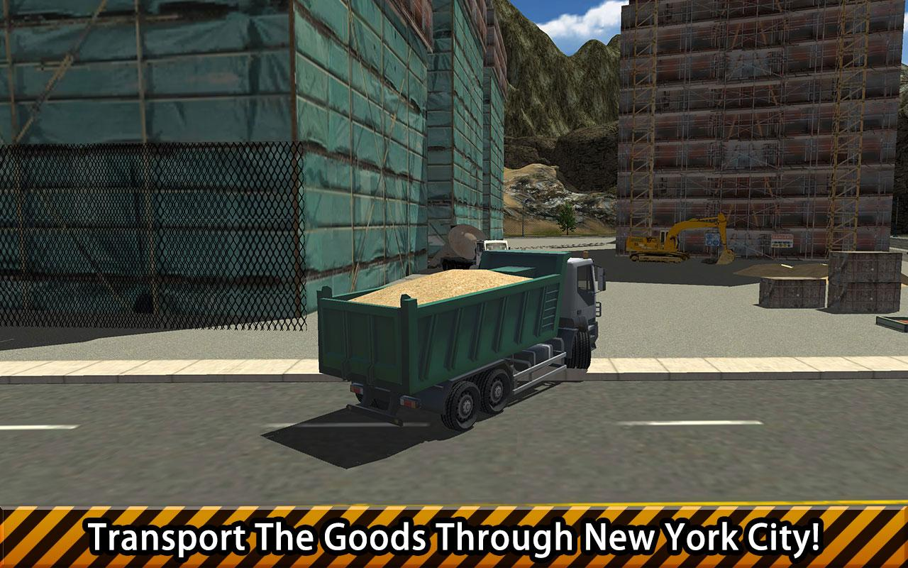 New York Construction Simulator PRO MOD APK terbaru