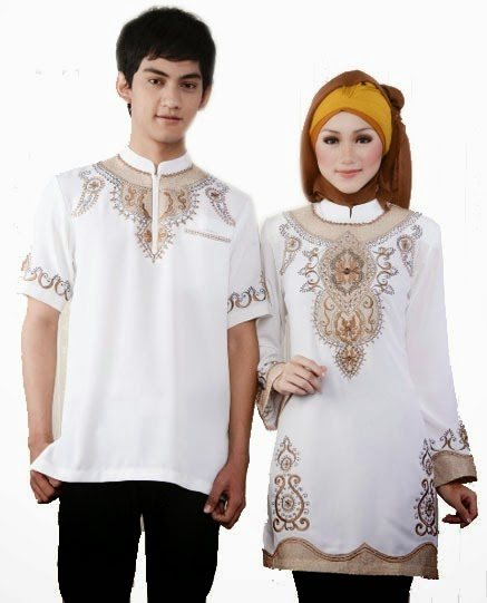 Baju Muslim Couple Modern
