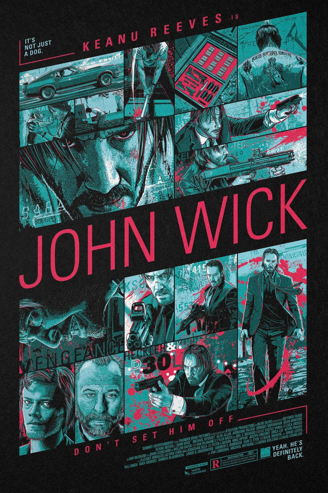 The Dork Review Rob S Room John Wick Chapter 2 Posters