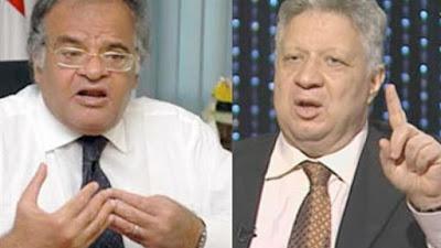 رجل الأعمال ممدوح عباس ومرتضى منصور