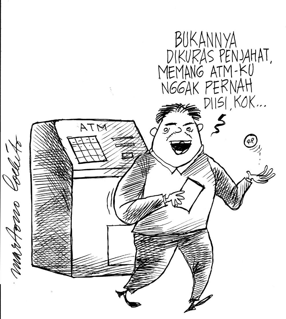 Iklan Karikatur Anti Korupsi  Pendidikan Anti Korupsi
