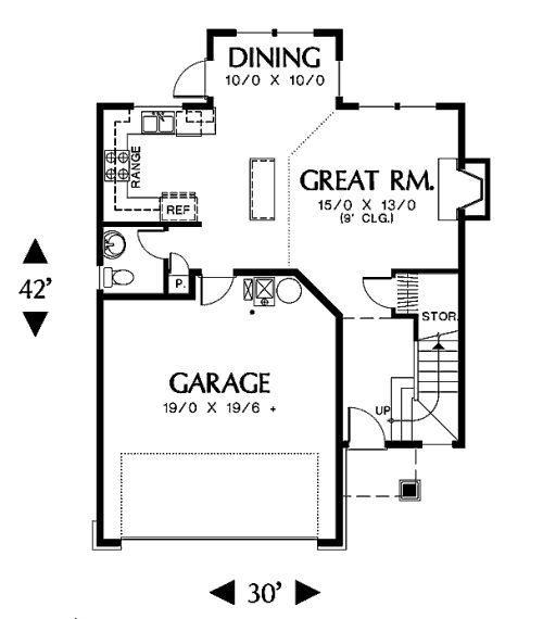 Planos de casas modelos y dise os de casas planos de for Casa moderna de 90 metros cuadrados