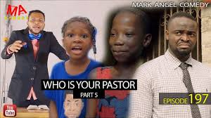 Mark Angel Comedy: Who is your  pastor? Part five