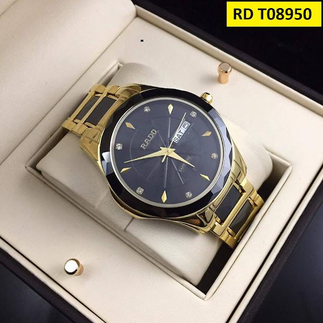 Đồng hồ nam Rado RD T08950 thiết kế tinh xảo, cao cấp, máy Nhật Bản