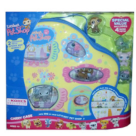 Littlest Pet Shop Carry Case Monkey (#412) Pet