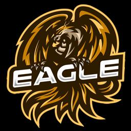 logo elang keren 3d
