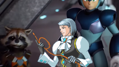 Franziska von Karma Rocket Raccoon Mega Man Marvel Guardians of the Galaxy Capcom