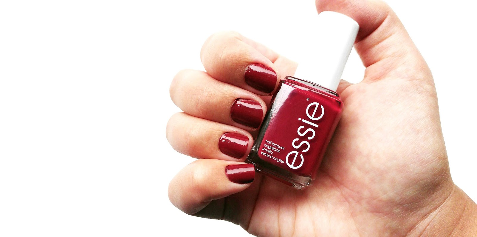 Essie Winter Collection 2016 Swatched and Reviewed, Essie Shall We Chalet