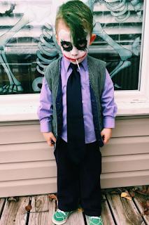 déguisement halloween Joker blog www.unjourmonprinceviendra26.com