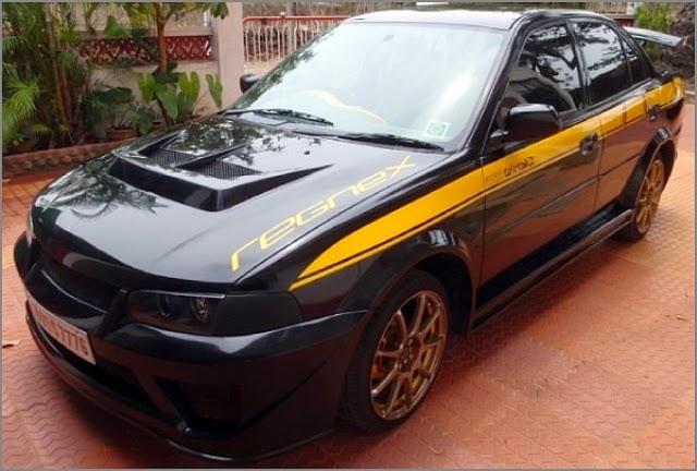 Modifikasi Mobil Timor Black Racing