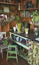 Garden Potting Shed Interior Ideas