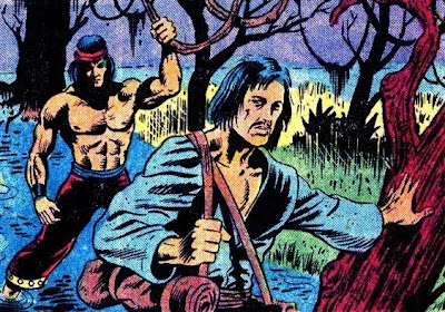 Viñeta de Shang Chi con David Carradine