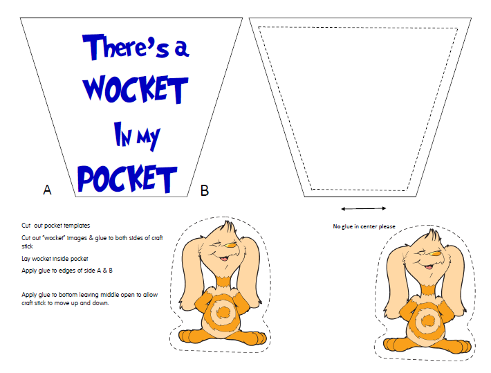 photograph regarding Wocket in My Pocket Printable identified as Celebrating Dr. Seuss with absolutely free printables