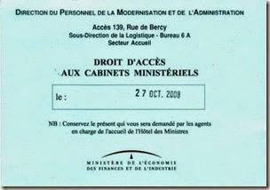 invitation aux mots d'or de Bercy