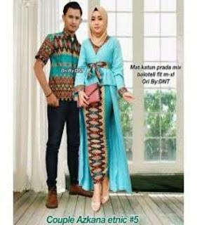 baju gamis modern batik