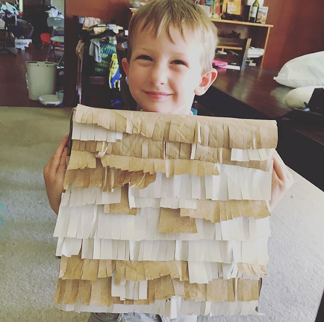 DIY Matzah Pinata | Land of Honey