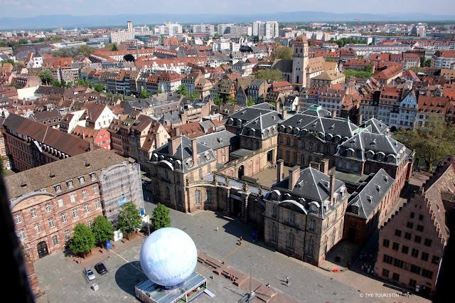 Strasbourg Palais Rohan on place du Chateâu