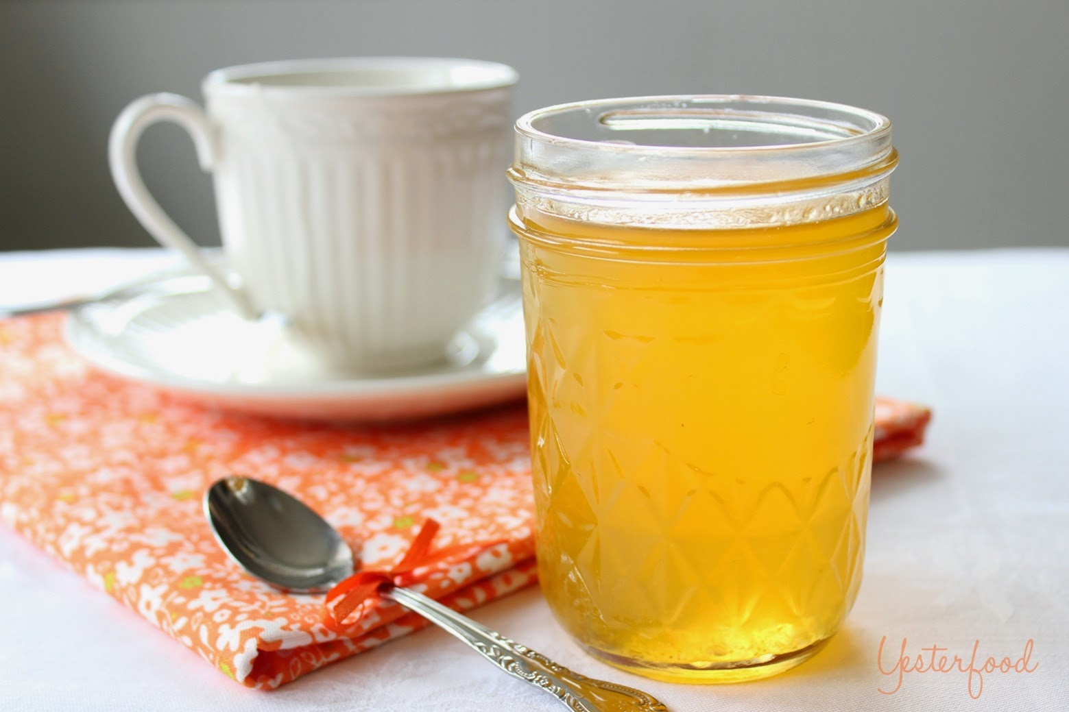 Yesterfood: Clementine Simple Syrup
