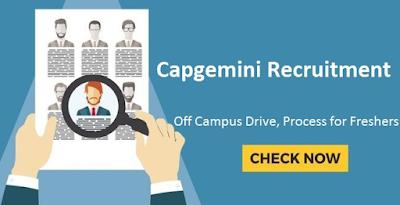 Capgemini Recruitment Process and Registration Link
