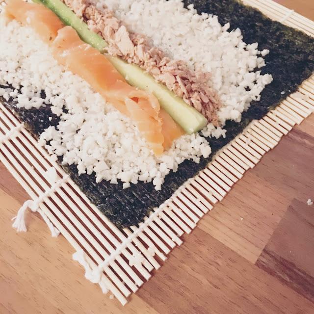 GrinseStern, Rezept, DIY, Food, Foodblogger, Sushi, Maki, Chinesisch, Dinner, lecker