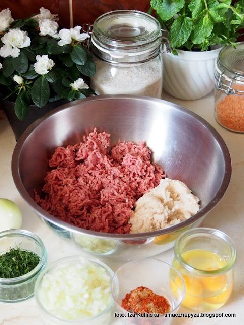 klops z jajkami, pieczen z jakiem, mieso mielone, wielkanoc, przepisy wielkanocne, do chleba