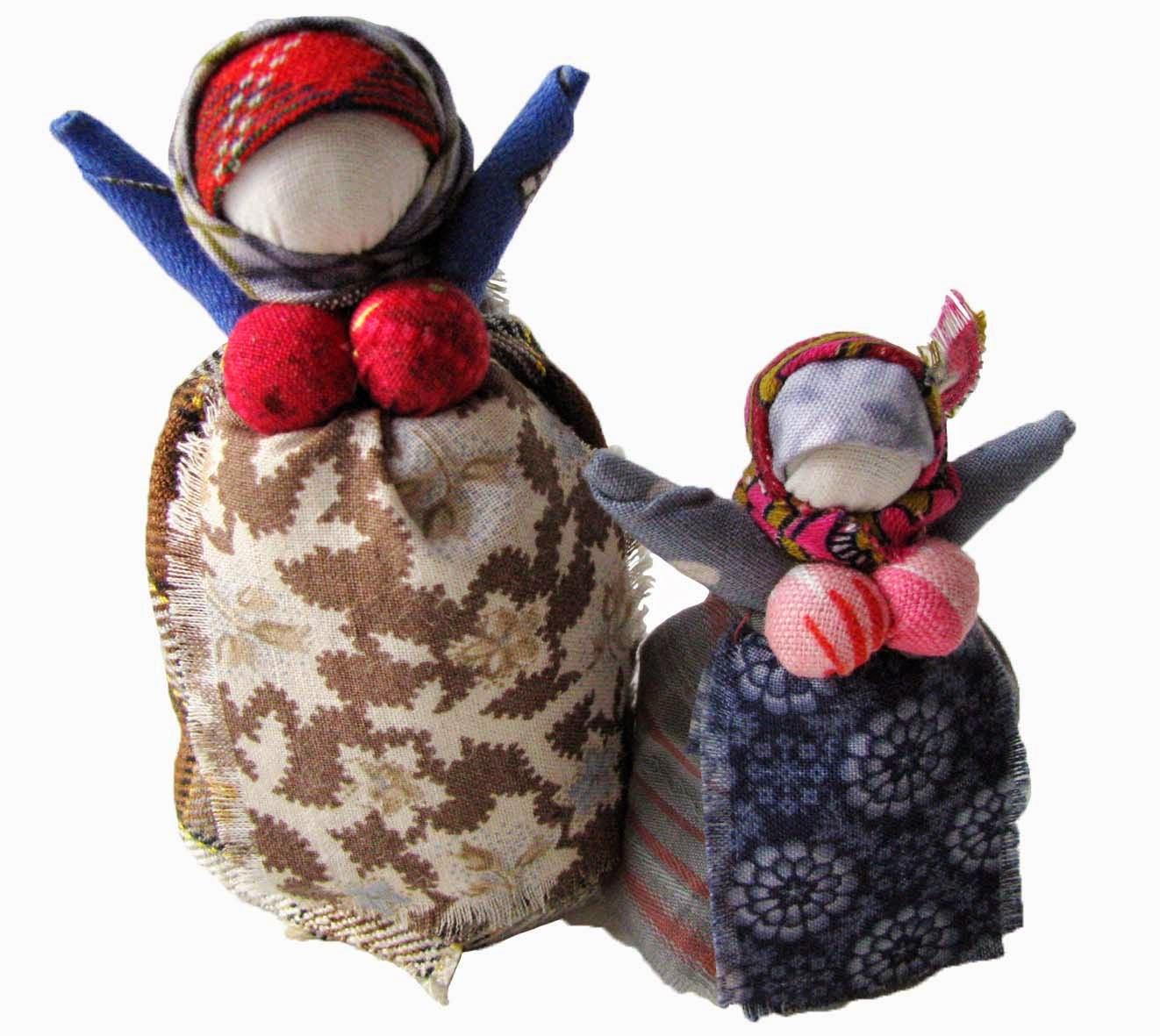 ロシアの可愛い指人形