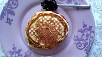 Pancakes με γιαούρτι, λεμόνι και παπαρουνόσπορο - by https://syntages-faghtwn.blogspot.gr