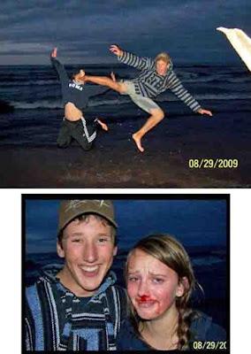 Lustige Bilder Liebespaar Vorher nachher Bilder zum lachen
