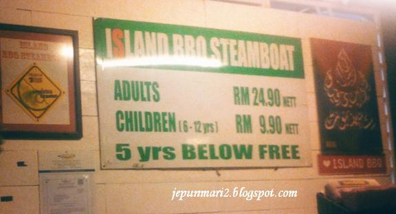 Island BBQ steamboat di Kg.Melayu Subang