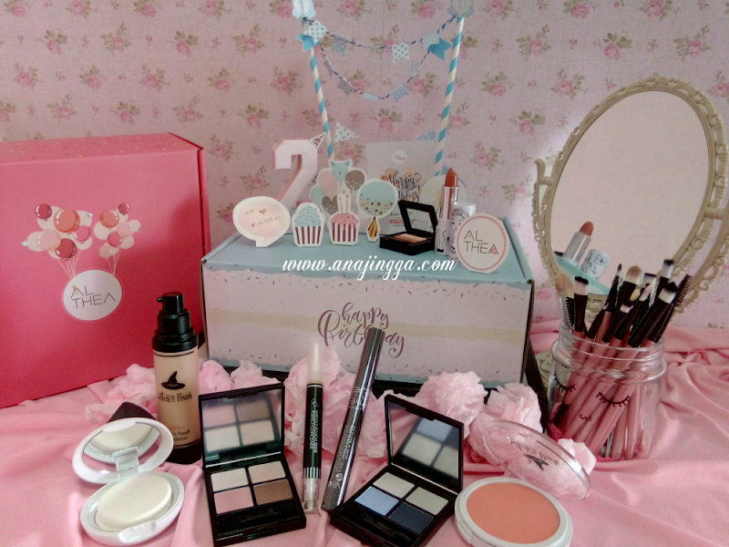 JOM SHOPPING ! ALTHEA TURNS 2 SALES DAN GIVEAWAY YANG AWESOME
