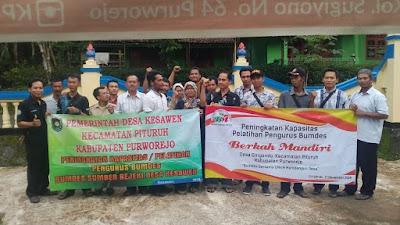 Dua Desa adakan pelatihan pengurus Bumdes