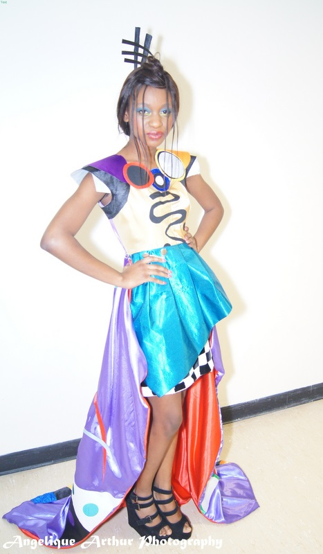 14 Year Old Nigerian Fashion Designer Debuts Her Collection In London Florida Fashion Mania
