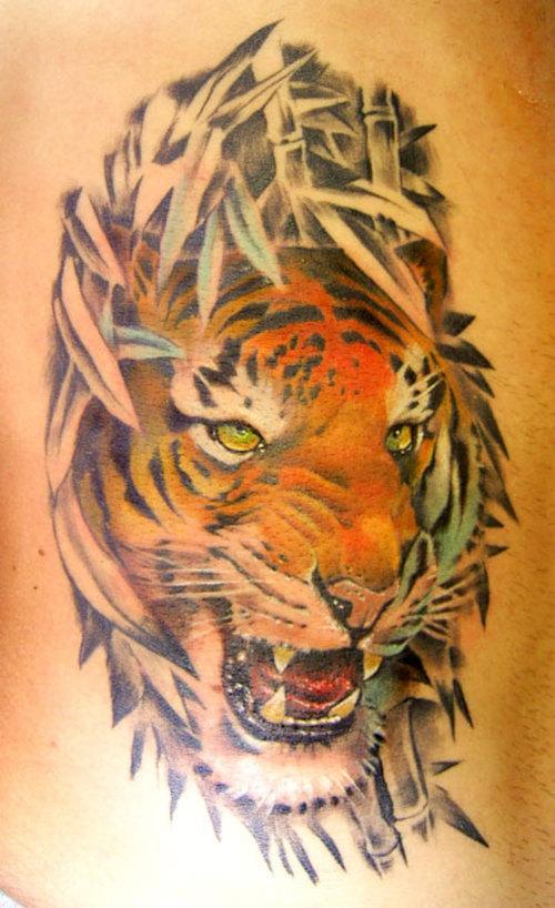 Wild Tattoos Tiger Tattoos For Men