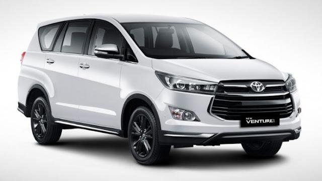 Spesifikasi dan Harga Terbaru Toyota Innova Venturer