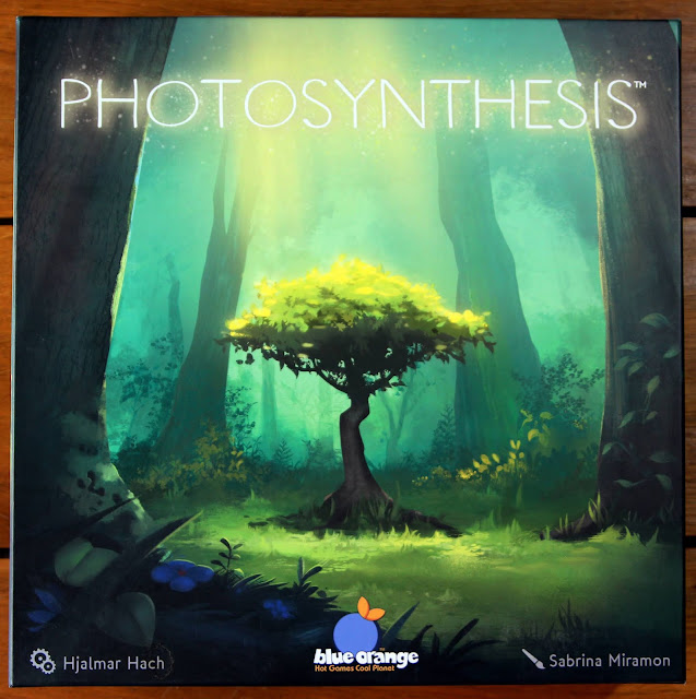 Photosynthesis box art | Random Nerdery board game review