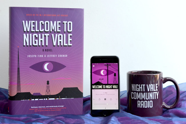Welcome to Night Vale book, podcast and mug.