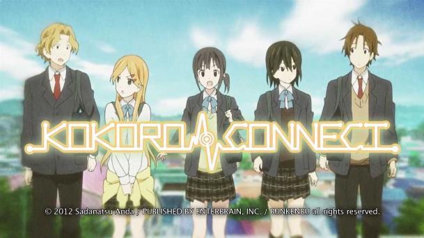 Anime Drama Romance Terbaik - Kokoro Connect