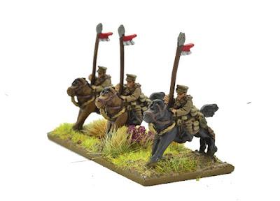 9 Cavalry miniatures