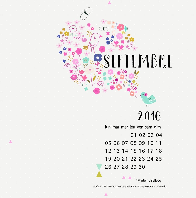Mademoiselleyo septembre fond d 39 cran for Fond ecran novembre