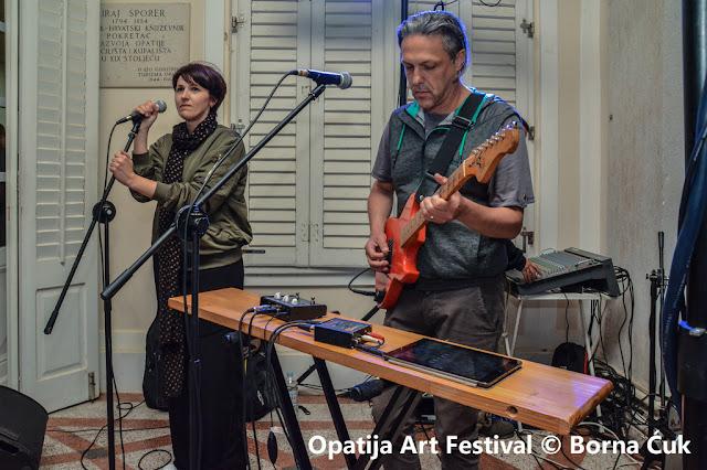 Op Art festival 2017 @ Med - elektronski duo Marta Slaviček i Saša Matić