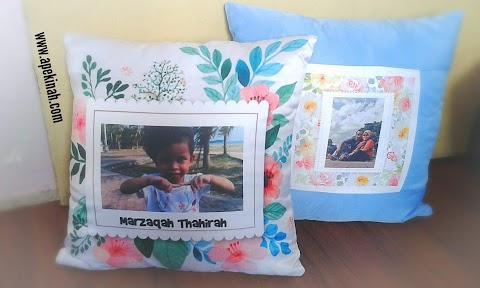 Cushion Daripada Printcious Dah Sampai