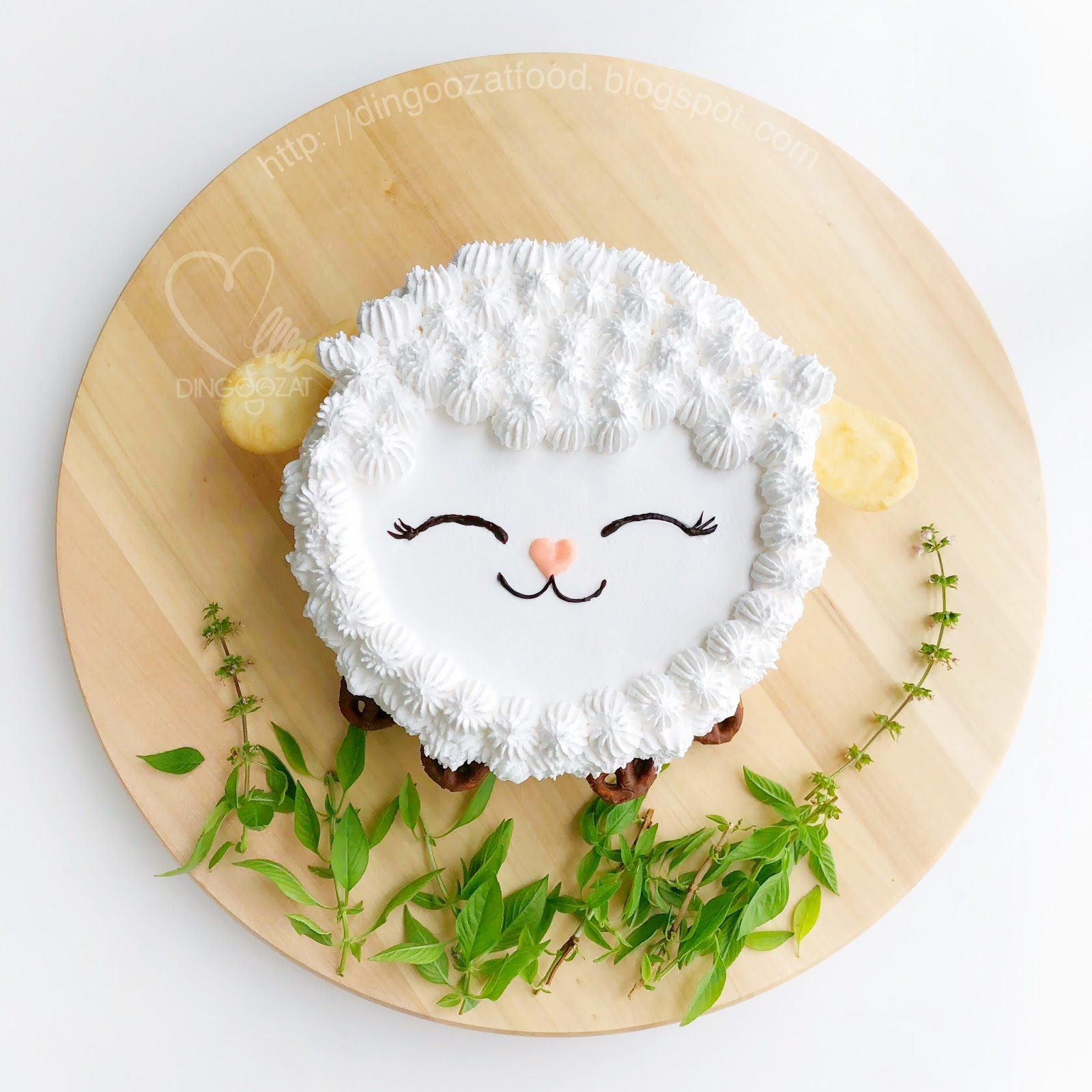 Mikis Food Archives Happy Sheep Birthday Cake