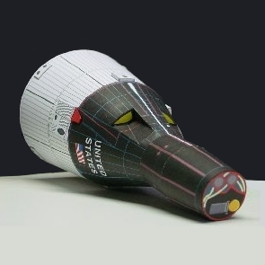 paper spacecraft models - photo #16