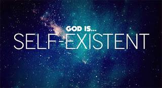 self-existence-god-image