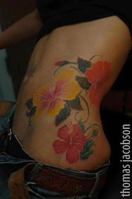 January Flower Tattoo