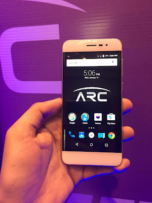 Panasonic launches Eluga Arc smartphone with 2.5D curve display, 4G VoLTE, IR, Android for Work in India for Rs. 12490