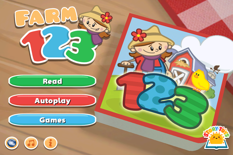 Mummy's Space: Farm 123 iPhone / iPad App Giveaway