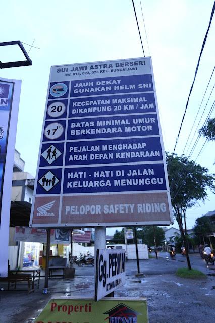 Kampung Berseri Astra Sungai Jawi Untuk Mewujudkan Wilayah yang Bersih Sehat Cerdas dan Produktif